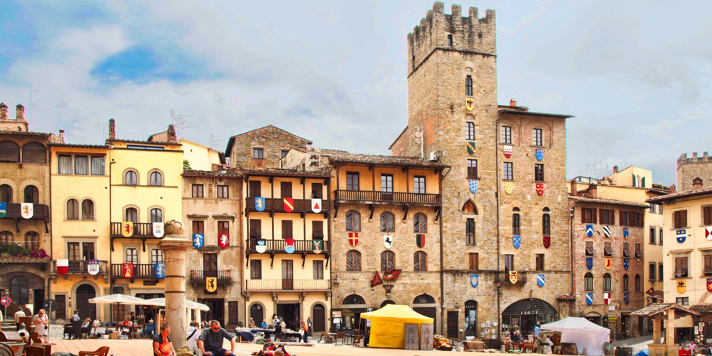 Afternoon tour to the city of Arezzo